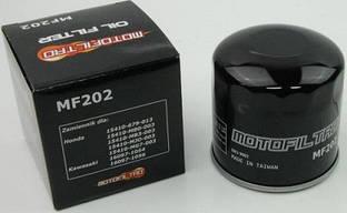 Фільтр масляний MotoFiltro MF202 (HF202) Honda, Kawasaki