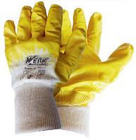 Перчатки рабочие трикотажные с нитриловым покрытие Werk WE2132H