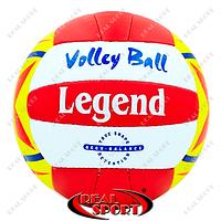 Мяч волейбольный Legend LG5188 (PU, №5, 3 слоя, сшит вручную)
