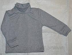 Дитячий гольф сірий меланж 86-140 р. см