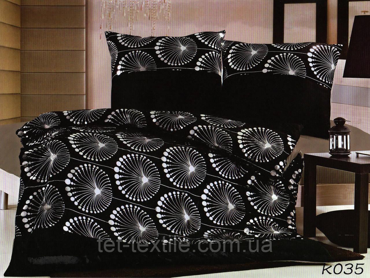 Комплект постельного белья из сатина и микрофибры 200х220