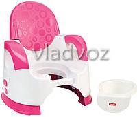 Горшок детский Fisher price фишер прайс удобство и комфорт розовый