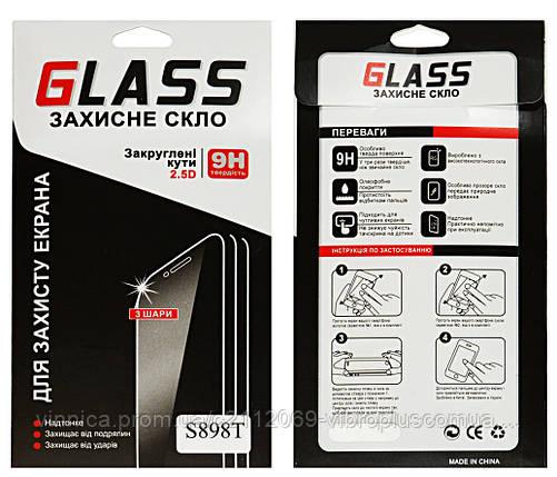 Защитное стекло для Lenovo S8 S898T, S898T+ (0.25 mm, 2.5D с олеофобным покрытием), фото 2