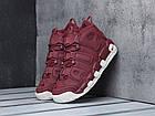 """Женские кроссовки Nike Air More Uptempo """"Bordeaux"""" Night Maroon (в стиле Найк Аптемпо) бордовые, фото 2"""