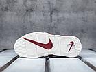 """Женские кроссовки Nike Air More Uptempo """"Bordeaux"""" Night Maroon (в стиле Найк Аптемпо) бордовые, фото 6"""