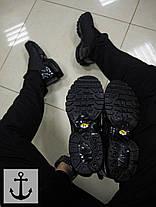 Мужские кроссовки Nike TN Slip полностью черные топ реплика, фото 3