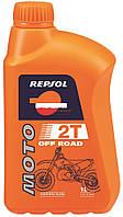 Моторное масло Repsol MOTO OFF ROAD 2T, 1L