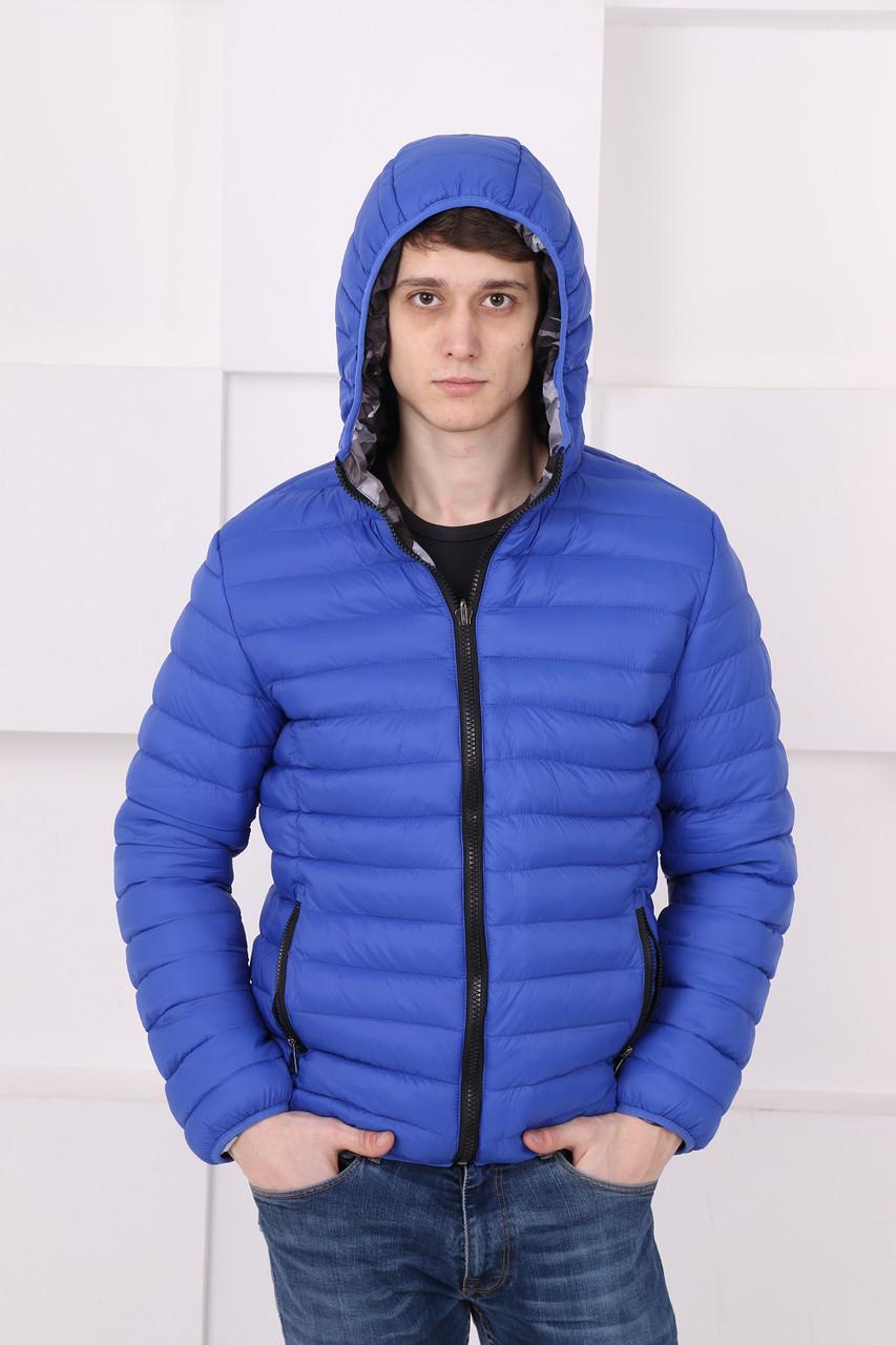Двухсторонняя мужская демисезонная куртка