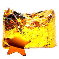 Конфетти звёздочки золото. Вес:50гр., фото 1