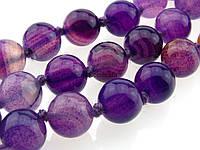 Агат вены дракона бусины 10 мм, натуральные камни, поштучно, фиолетовый с разводами, заказ делайте через сайт в описание товара