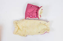 Дитячий теплий на овчині конверт в коляску, на санки., фото 3