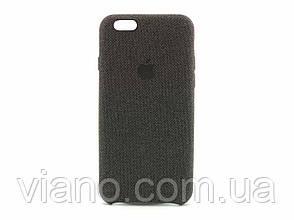 Нейлоновый чехол iPhone 6/6S (Чёрный) Nylon case