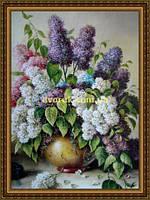 Картина Букет бузку 400х600мм №650