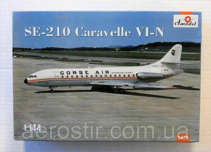 Se-210 Caravelle VI-N 1/144 AMODEL 1479