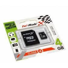 Micro SDHC карта памяти HI-RALI  4GB class 4 (с адаптером)