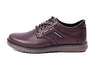 Мужские кожаные туфли Kristan brown