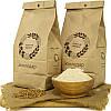Пшеничная мука цельнозерновая жерновая 1 кг