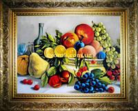 Картина Натюрморт на кухню 400х600мм №600 в багетній рамі