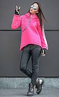 Женская спортивная куртка-анорак с капюшоном Star (разные цвета)