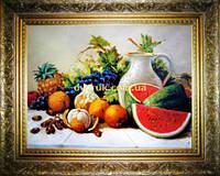 Картина Натюрморт на кухню 400х600мм №602 в багетній рамці