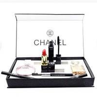 Набор духов, помады, тушь, карандаш от Chanel