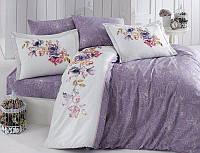 Комплект постельного белья First Choice Ranforce Deluxe ранфорс евро арт.Orline