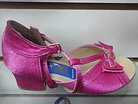Обувь для девочек блок-каблук Success (розовый) (р.17.5; 19; 21,5)