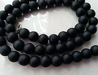 Шунгит бусины 4 мм, натуральные камни, поштучно, черные, заказ делайте через сайт в описание товара
