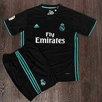 Футбольная форма Реал Мадрид черная сезон 2017-18