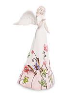 Фарфоровая статуэтка Ангел с бабочкой (Pavone) JP-764/ 8. Пасхальные сувениры