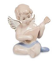 """Фарфоровая фигурка """"Ангелочек, музыкант"""" (Pavone) JP-14/ 5. Пасхальные сувениры"""