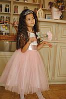 """Детское нарядное платье с коротким рукавом """"Беби"""""""