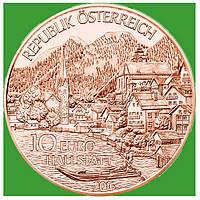 Австрия 10 евро 2016 г. Федеральные провинции - Верхняя Австрия , UNC.