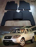 Коврики на Hyundai Santa Fe '06-10 CM. Автоковрики EVA