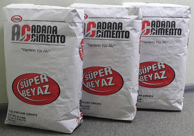 Белый цемент TM Adana Cimento, Turkey 52,5 R