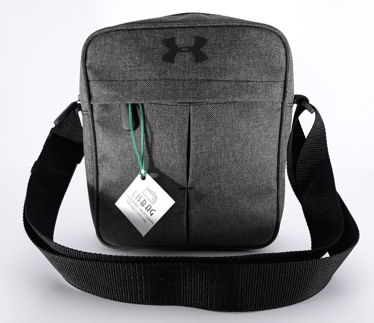 cf4787bf Мужская спортивная сумка мессенджер-планшетка-барсетка UNDER ARMOUR реплика  люкс качества
