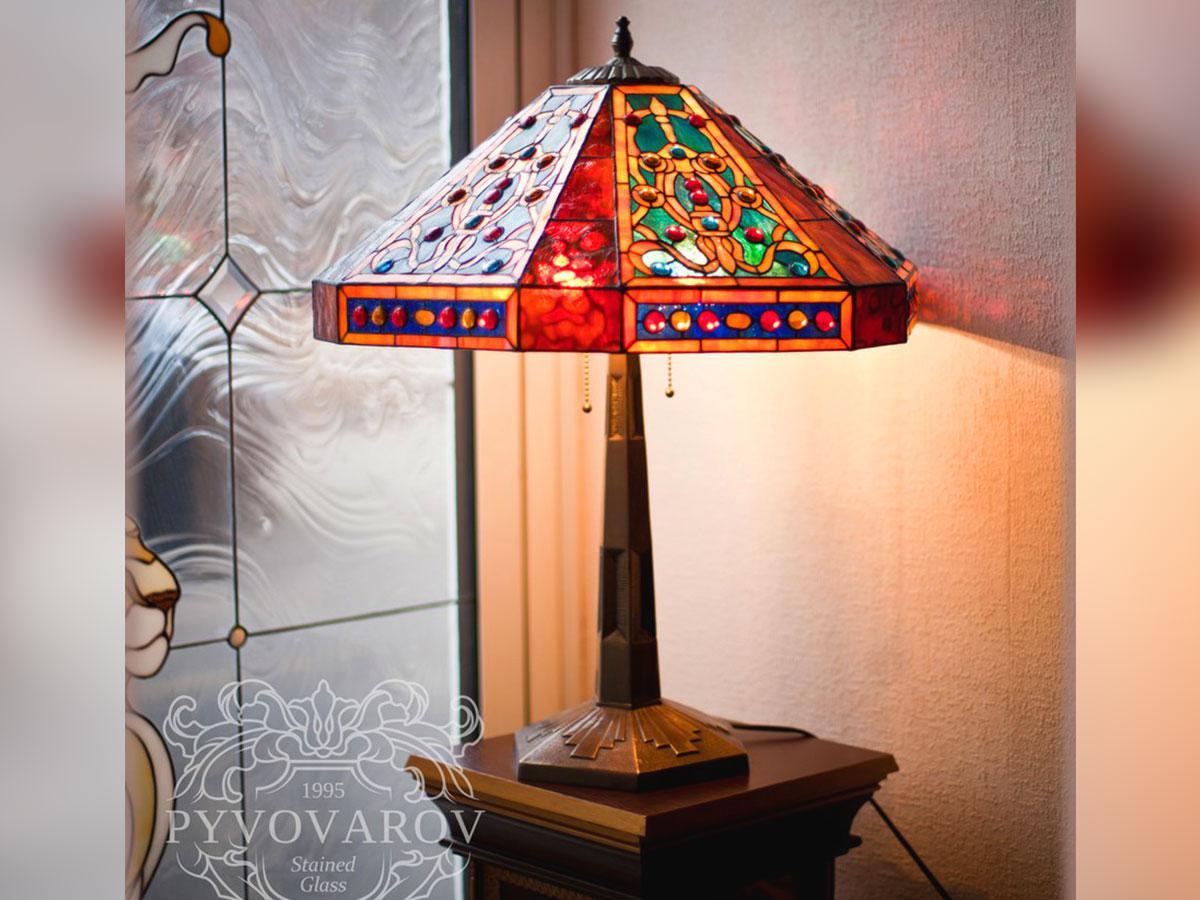 Светильники Тиффани для кабинета