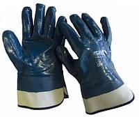Перчатки с нитриловым покрытием, щелочные Werk WE2112Н