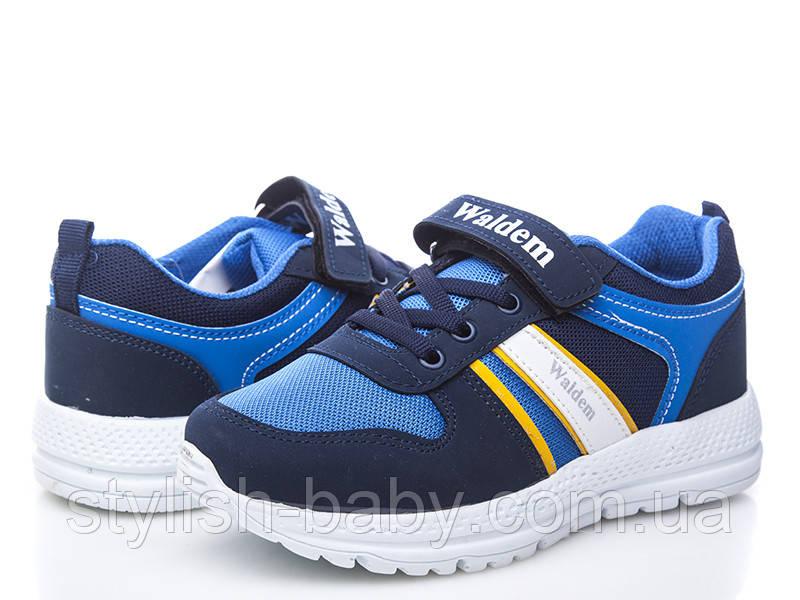 Детская спортивная обувь оптом. Детские кроссовки бренда Waldem для мальчиков (рр. с 31 по 35)