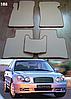 Коврики на Hyundai Sonata '01-05. Автоковрики EVA