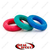 Эспандер кистевой кольцо UR FI-3546 (резина, d-8 см, нагрузка 20 кг)