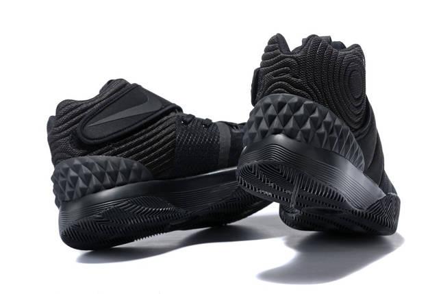 Кроссовки мужские NIKE Kyrie 2 S1 HYBRID EP ALL BLACK черные, фото 2