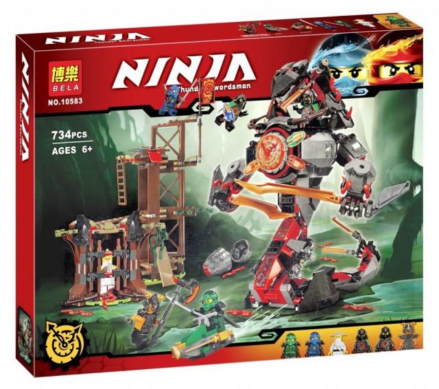 Конструктор Bela 10583 Ninja Ниндзя Ninjago Ниндзяго Железные удары судьбы 734 дет