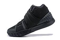 Кроссовки мужские NIKE Kyrie 2 S1 HYBRID EP ALL BLACK черные