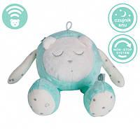 Myhummy - успокаивающая музыкальная мягкая игрушка с белым шумом. Кругляшок мятный