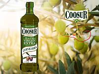 Оливковое масло COOSUR VIRGEN EXTRA CORNICABRA, 1 ЛИТР (КООСУР КОРНИКАБРА).