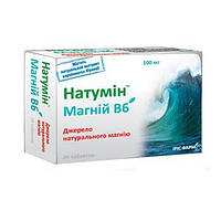 Магний В6 Натумин таблетки №24 Ирис Фарм