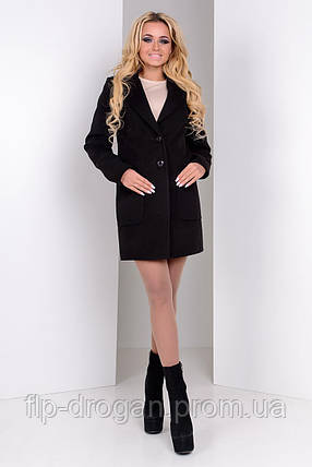 Пальто женское! кашемир! в наличии! новое! Украина! р L!, фото 2