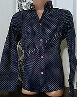 Стильная стрейчевая рубашка для мальчика 116-152 см (опт) (ТС04) (пр. Турция)