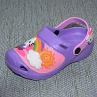 Кроксы для девочек Hello Kitty размер 25 26 27 28 29